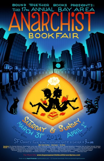Anarchist Bookfair Poster